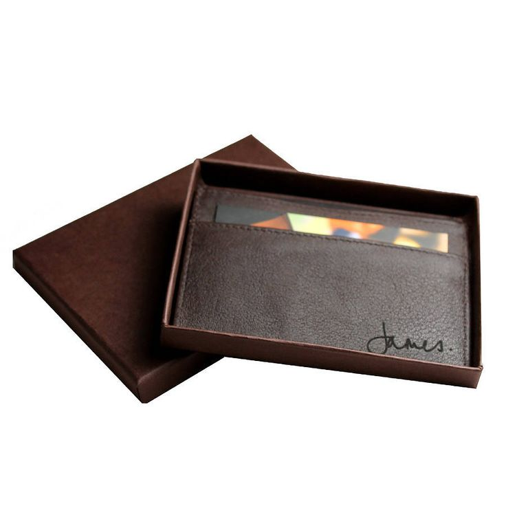 Sean: Men's Buffalo Leather Card Holder from notonthehighstreet.com
