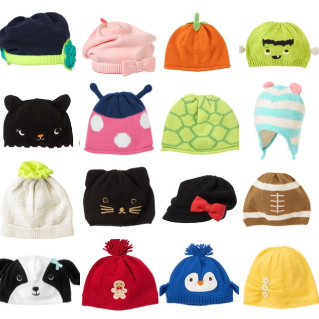 Merry Christmas Cats Infant Skull Hats Baby Girls Beanie Caps