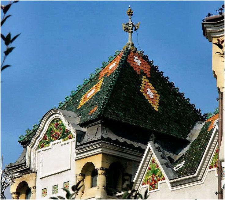 ART NOUVEAU ROMANIA Marosvásárhely