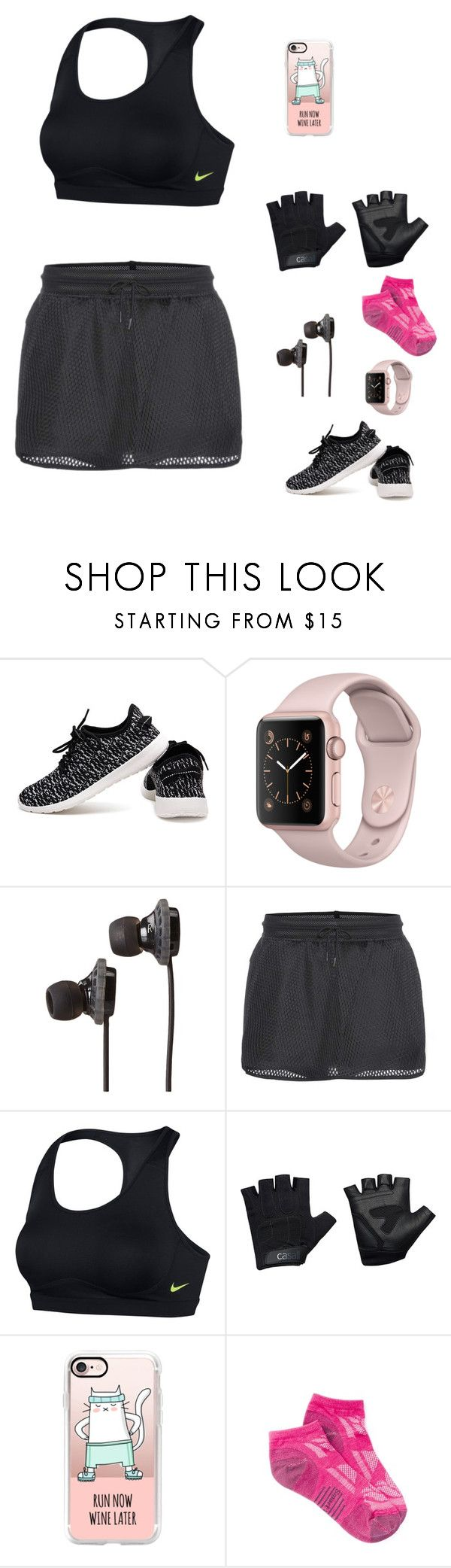 """sports day"" by audrey-balt on Polyvore featuring SOL Republic, NIKE, Casall, Casetify and Smartwool"