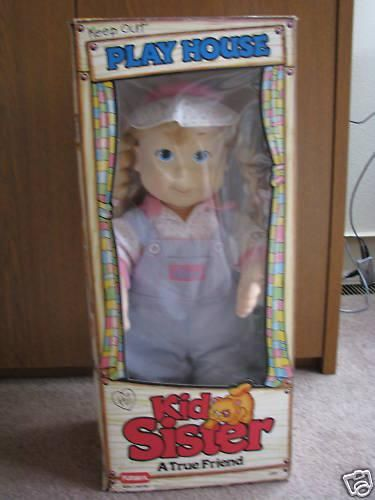 "Kid Sister doll. One of the best ""toys"" of the 80s. (I didn't have one myself, but I knew people who did)"