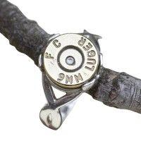 9mm Bullet Ring | 9thandelm #bullet #jewelry #lamplighter #9thandelm