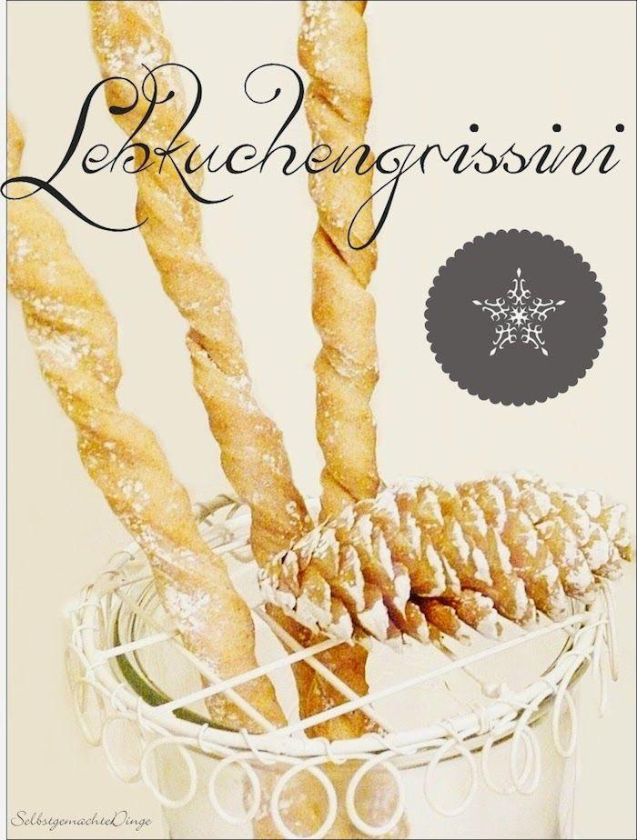 Lila-Lotta Adventskalender 2014 - Türchen Nr. 7 ~ Lila-Lotta Lebkuchen-Grissini