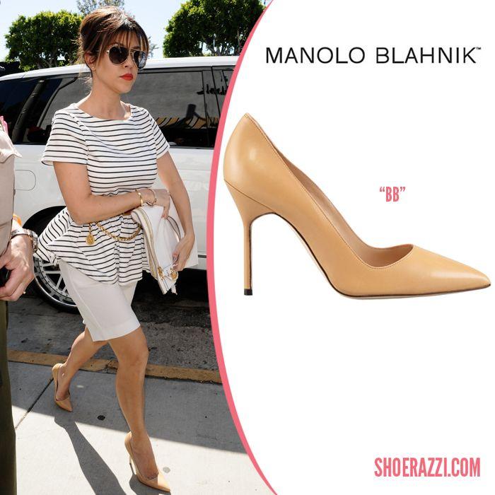 4232a94b90c8b Manolo-Blahnik-BB-Pump-Kourtney-Kardashian | Manolo, Jimmy, Louboutin |  Kardashian shoes, Kourtney kardashian, Kardashian