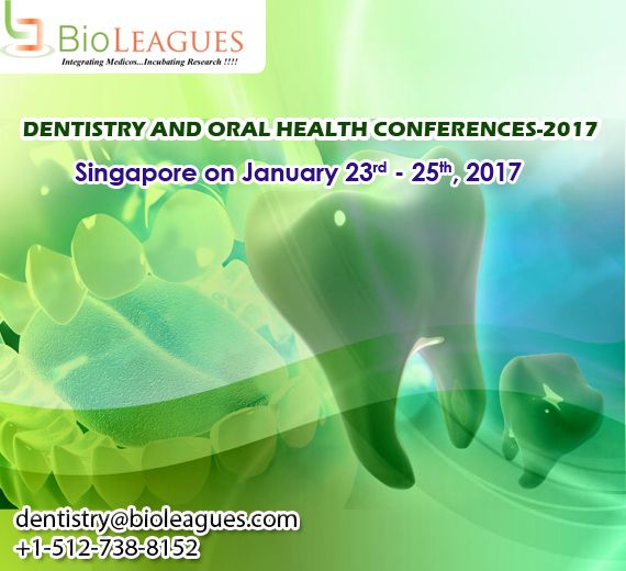 Dentistry and Oral Health Summit-2017 pre regarded for World Dental and Oral wellbeing is a remarkable occasion which features exciting speakers, hands-on sessions and use of exploration discoveries identified with, Cosmetic Dentistry, #Oral wellbeing, Oral Surgery, #Oral Cancer, Endodontics, Orthodontics, #Periodontics, Periodontology, Forensic Dentistry or Odontology and Future Trends in Dentistry. #dentistry #oral #dental #dentistry #conference #events #conferences #seminar #forum