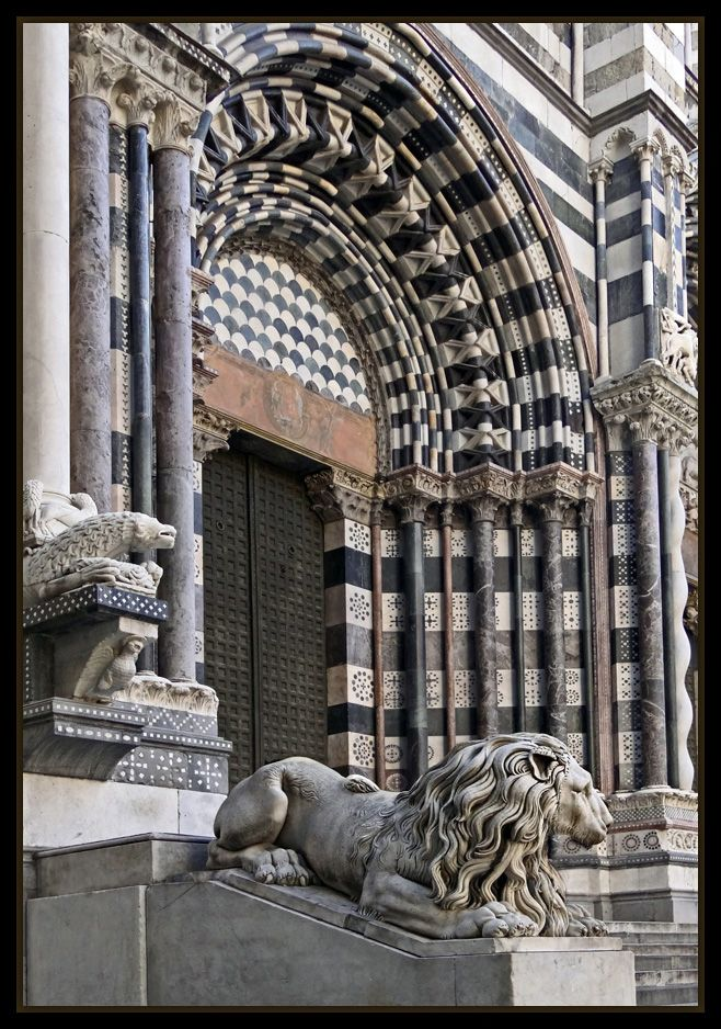 Cathedral of San Lorenzo, Genoa - Italy