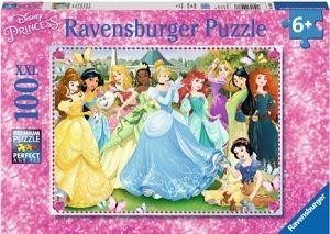 Puslespill 100 prinsesser 100