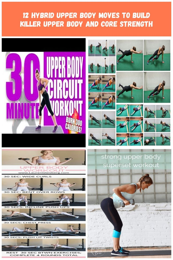 30 Minute Upper Body Circuit Workout 🔥Burn 300 Calories! 🔥Sydney Cummings …