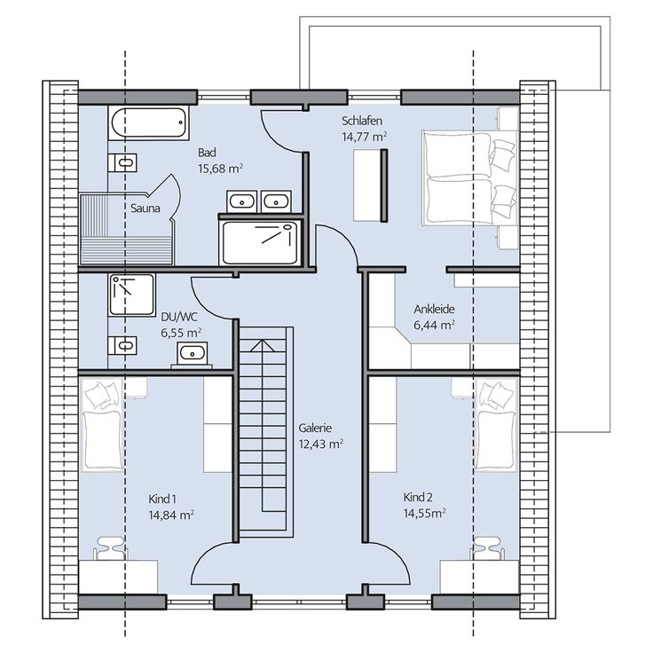 158 besten Häuser Bilder auf Pinterest | Hauspläne, Grundriss ...