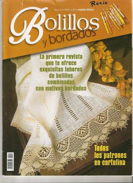 Bolillos&Bordados 13 (Nueva Epoca)