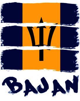 bajan flag fashion   Barbados T-Shirt Designs   Wordans Canada