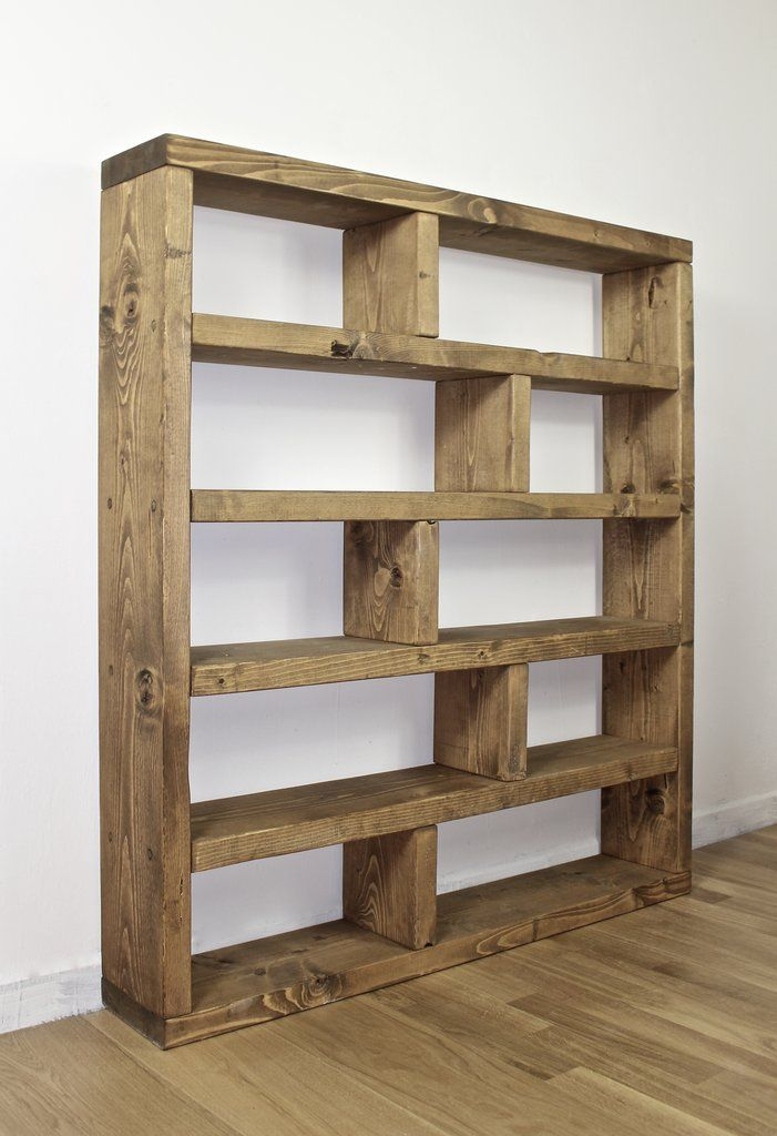 Bücherregal Aus Paletten Bauen Rustic Lover Shelving Bookcase Unit | Dining / Snug Room