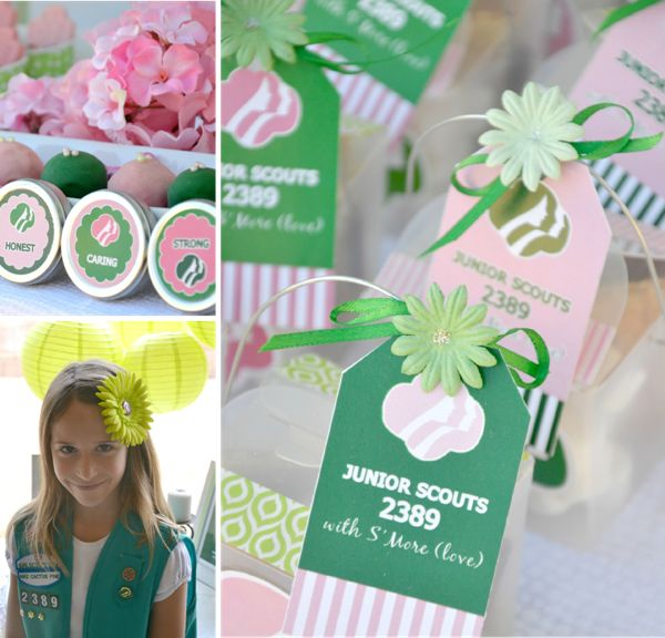 Girls Scout Party + FREE Printables!