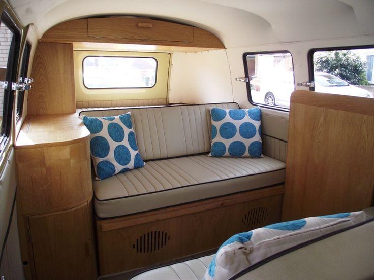 Bw Camper Van >> split screen van interior | VW Bubble mobile | Pinterest | Van interior, Vw camper vans and Vw ...