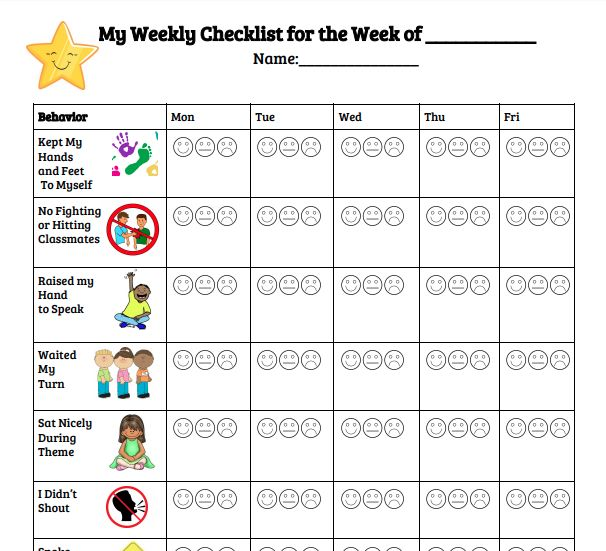 The 25+ best Classroom checklist ideas on Pinterest Classroom - weekly checklist