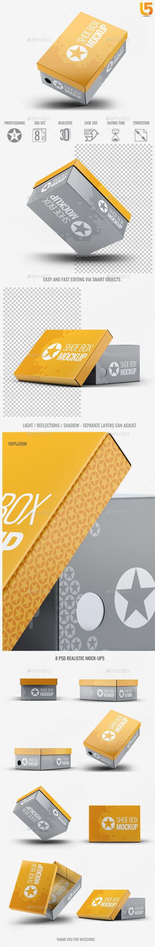 Download Shoe Box Mock Up V 2 Mockup Design Mockup Box Mockup