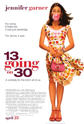 Very cute movie:)~Quick bit of trivia the actress that played the younger Jenna (Christa B. Allen) in this movie went on to play the teenage Jenny (a teenage version of Jennifer Garner's character) in the movie Ghost of Girlfriends Past, a few years later.