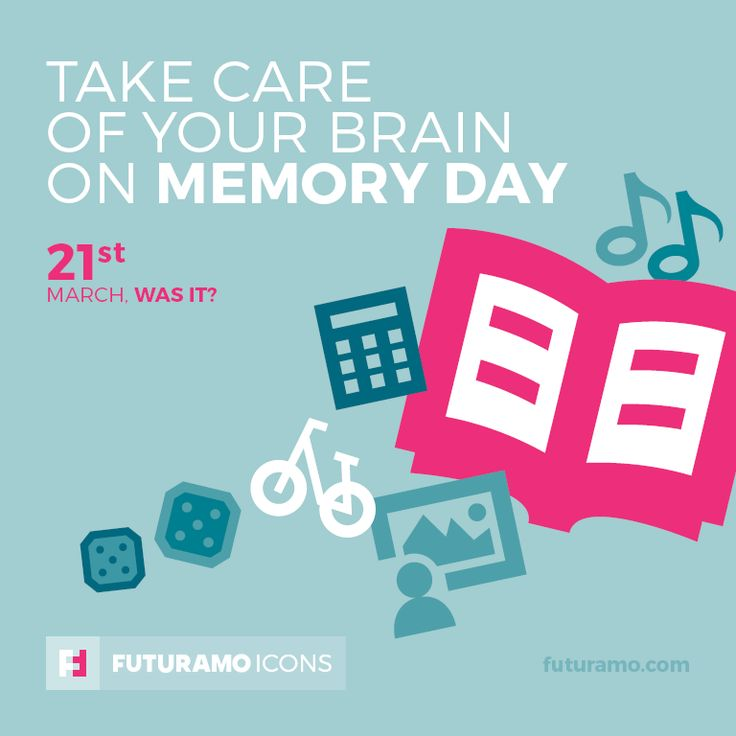 Take care of your brain on memory day! Check out our FUTURAMO ICONS – a perfect tool for designers & developers on futuramo.com