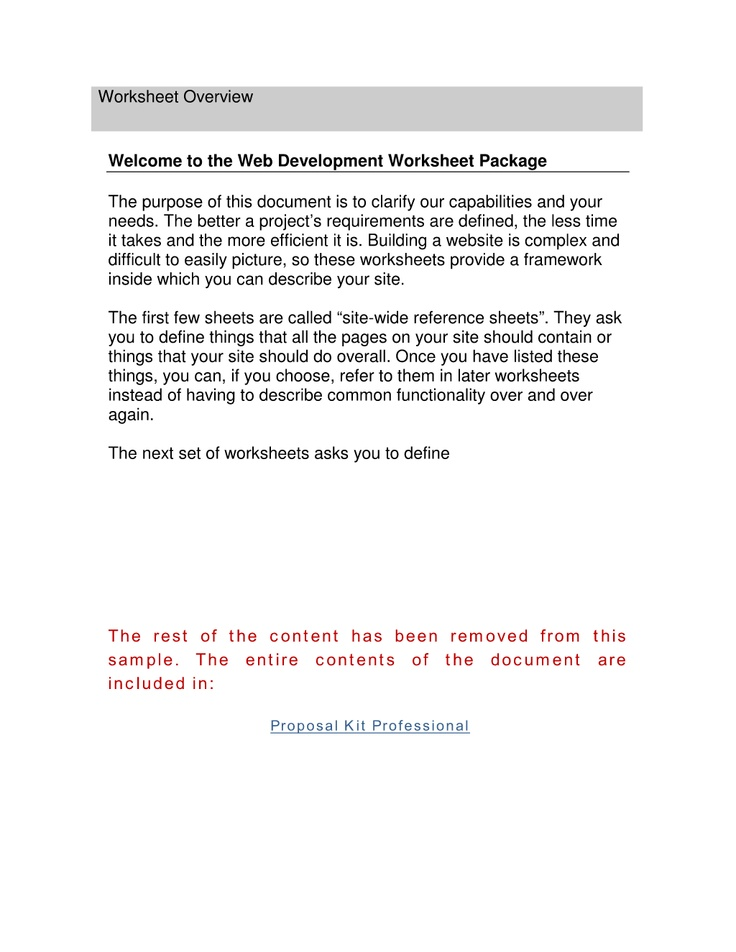 60 best Project Management Templates images on Pinterest Binder - project overview template