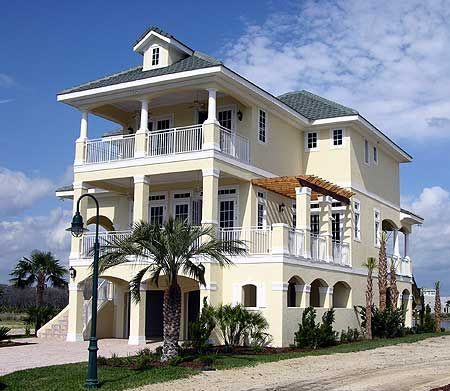 Florida beach cottage house plans