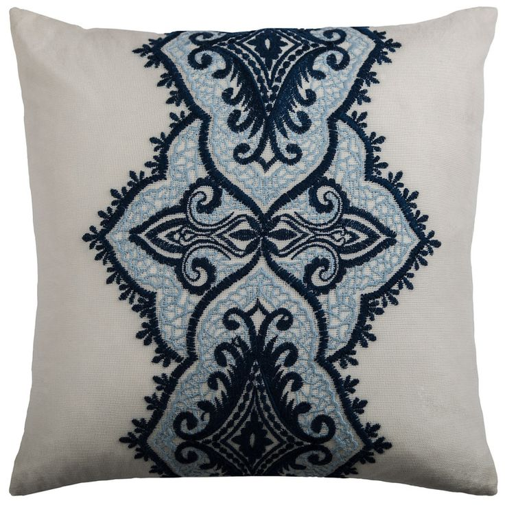 One Of A Kind Accent Pillow Cover (Navy Blue) (T09705)