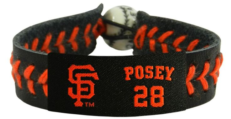 - Officially licensed handmade bracelet - Made of genuine quality baseball leather - Features a ceramic baseball bead and elastic loops for closure - There are two loops for adjustable sizing, making
