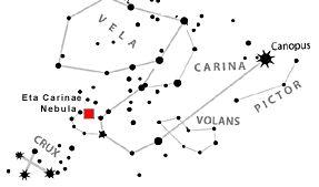 Eta Carinae CONSTELLATION