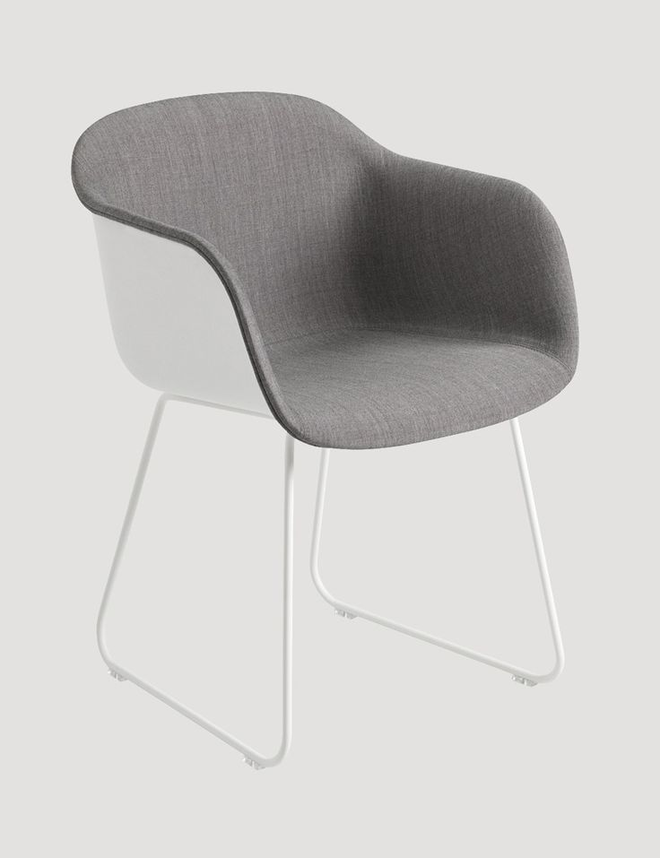 The FIBER CHAIR FRONT UPHOLSTERY combines the benefits of the FIBER ARMCHAIR alternatives; the comfort of the upholstered seat with the lightness and character of the fiber shell. This combination creates an interesting contrast for the eye and a dynamic effect in the room. The outer shell is made from the same innovative wood fiber composite as the rest of the FIBER CHAIR family, and is upholstered with Kvadrat textile.