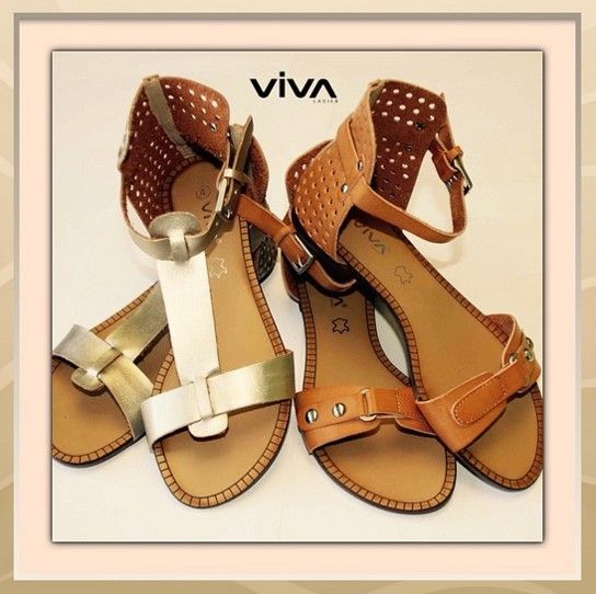 Viva ladies sandals #summer #pretty #gooddeals