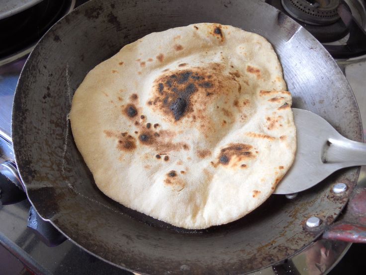 Tandoori roti on stove top, how to make tandoori roti with step by step pictures.