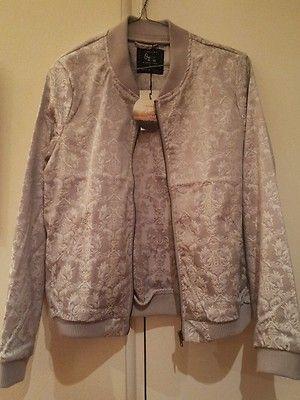 Bomber Jacket Brocade Material New Women'S | eBay