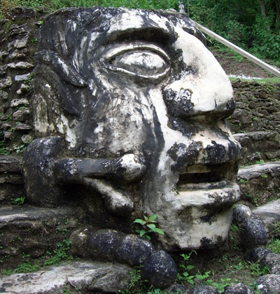 Mayan relics discovered recently