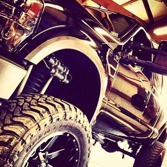 Trucks... Lifted trucks :)