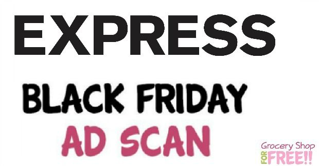 Express Black Friday Ad Scan 2016!