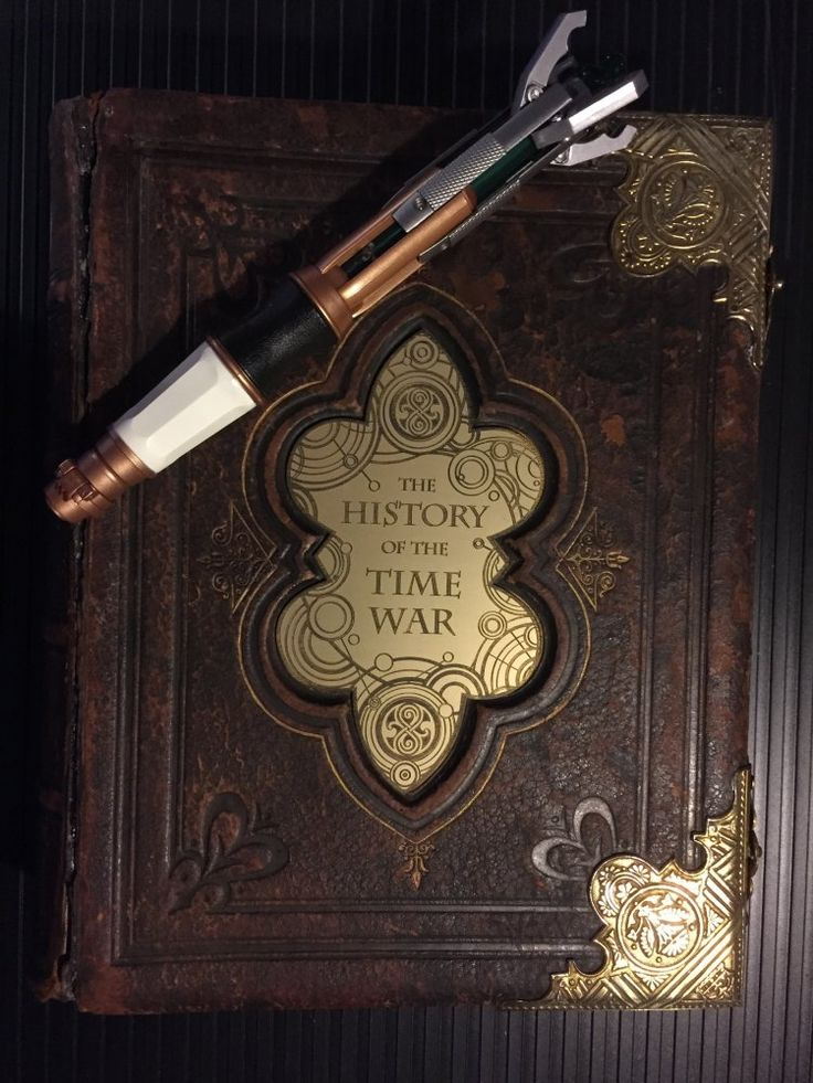 FINISHED!!! Doctor Who: The History of the Time War - The Book (Made by bobatrek of the Replica Prop Forum)
