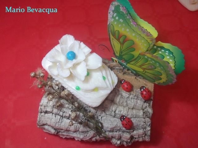 Soap carving Butterfly