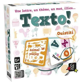 Texto ! est un jeu de Gigamic