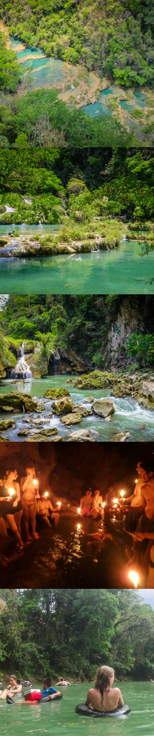 My Favorite Day in Central America — Semuc Champey / via Adventurous Kate. » Oh, I want to go here... looks like an awesome day!!