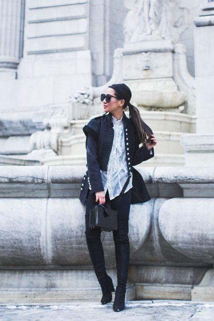 Winter Styling :: Wool jacket