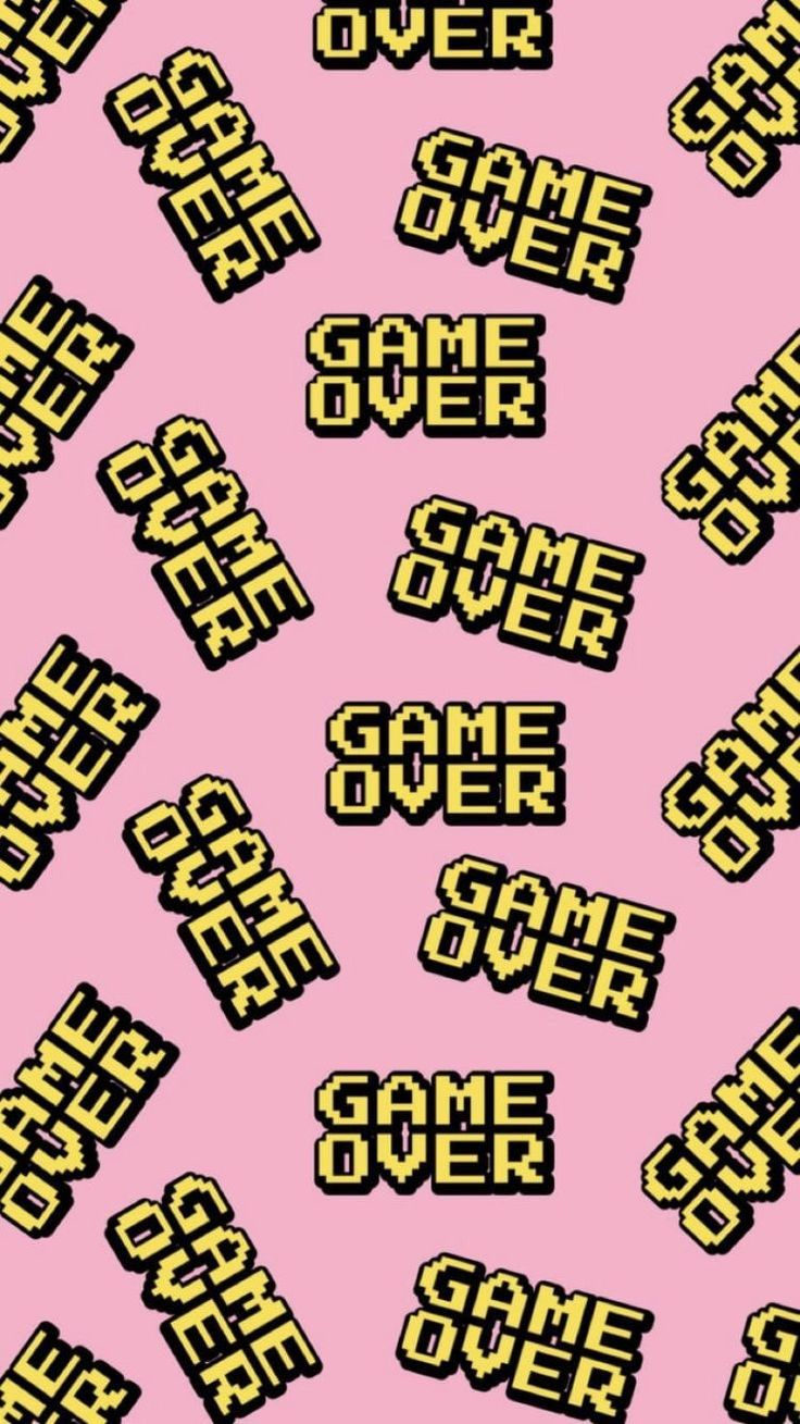 and Android Wallpapers: Game Over Wallpaper for iPhone and Android
