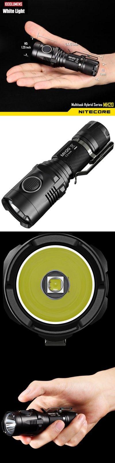 Nitecore MH20 Cree XM L2 U2 6000K Rechargeable LED Flashlight