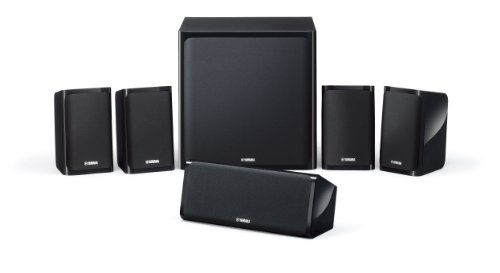 Yamaha NSP40 5.1 Home Cinema Speaker Kit  - Black