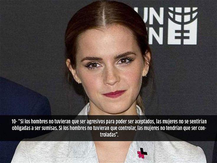 Las 10 frases feministas con las que fue ovacionada Emma Watson en la ONU