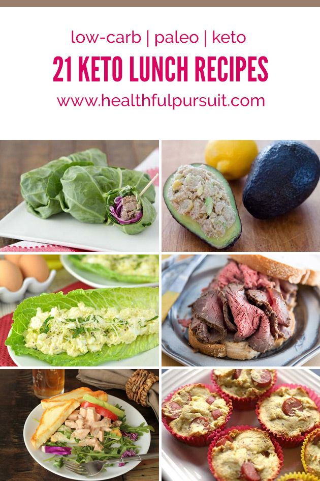 Fast and Easy Low-Carb Lunches #keto #lowcarb #highfat #paleo