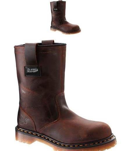 Dr  Martens Mens 2296 NS Wellington Rigger Boot Gaucho Volcano 11 UK #Shoes