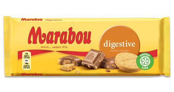 2/5 Marabou Digestive, för lite digistive och hård smulig choklad. bra ide!