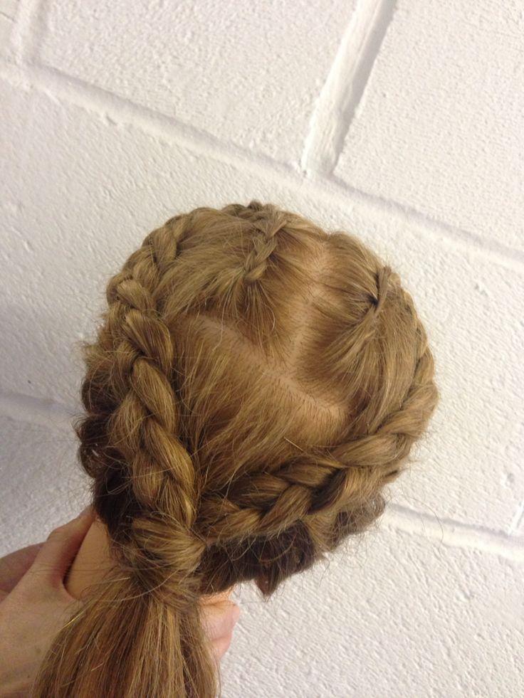 On Scalp Plait Plait Braid Hair Makeup Hair Styles