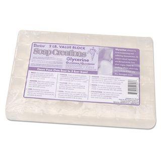 Clear Glycerin Soap Base - Scored 2 Pound Block