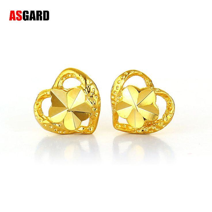 ASGARD New fashion jewelry Hot Sale Earring Heart Shaped Earrings for women Jewelry Wholesale