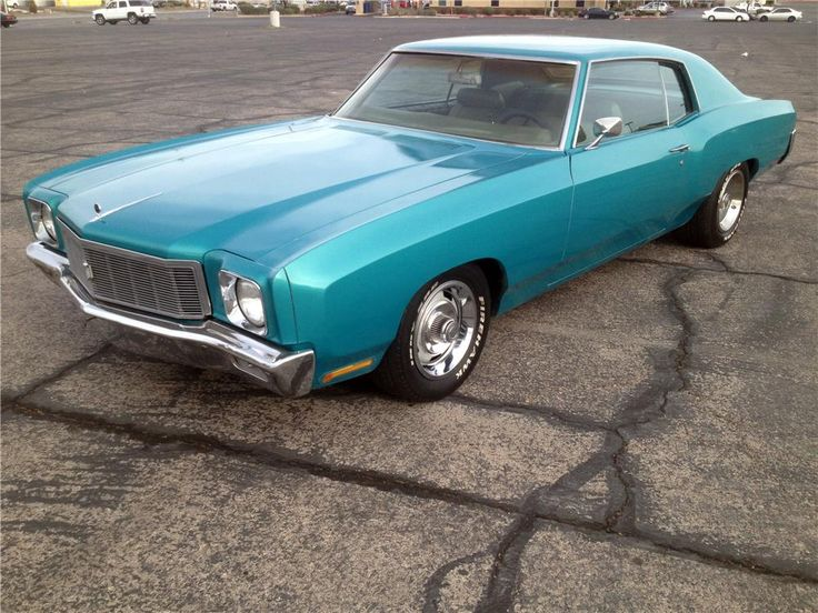 "From the History Channel's ""Counting Cars"" Episode 9 ""Politically Correct"" is this 1971 Chevrolet Monte Carlo. In the episode Danny tries to buy this car. 350 Turbo Fire 270hp motor, Turbo 350 transmission, 12-bolt posi-traction rear end, factory air conditioning, original interior, 2 stage teal green paint and Rally wheels custom fit to the wheel wells."